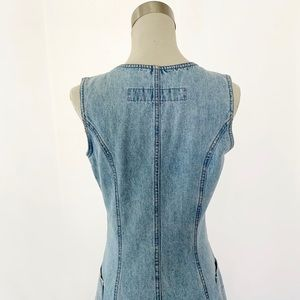 Z. Cavaricci Dresses - Z. Cavaricci Stone Washed Denim Dress Sleeveless
